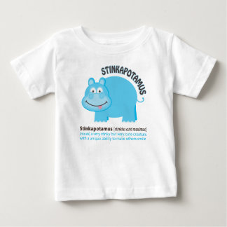 Camiseta Para Bebê Stinkapotamus