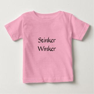 Camiseta Para Bebê Stinker Winker