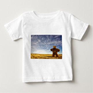Camiseta Para Bebê Strawman da pradaria