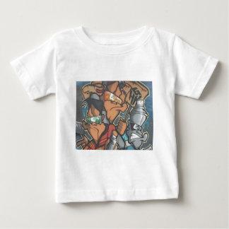 Camiseta Para Bebê street artist