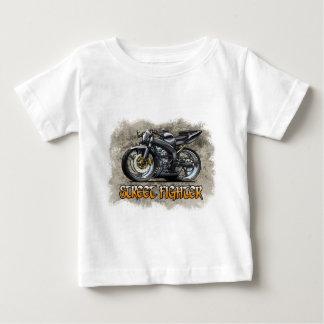 Camiseta Para Bebê Street_Fighter_Black