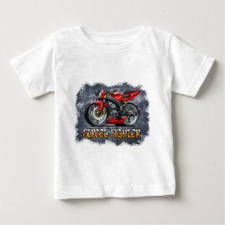 Camiseta Para Bebê Street_Fighter_Red