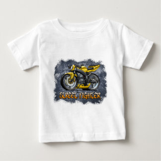 Camiseta Para Bebê Street_Fighter_Yellow