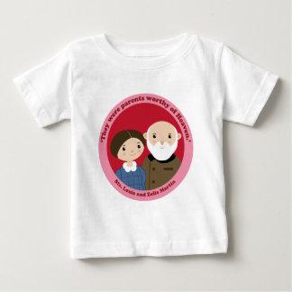 Camiseta Para Bebê Sts. Louis e Zelie Martin