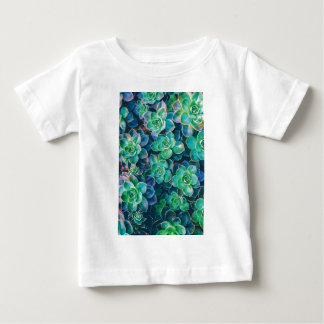 Camiseta Para Bebê Succulents, Succulent, cacto, cactos, verde,
