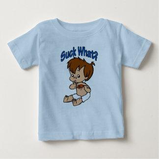 Camiseta Para Bebê Sugue que? Bebê dos lagostins