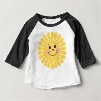 Camiseta Para Bebê Sun e lua
