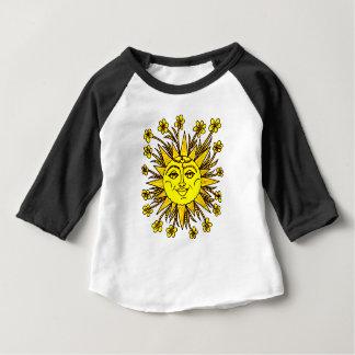 Camiseta Para Bebê Sunhine
