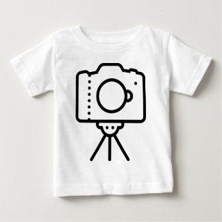 Camiseta Para Bebê Suporte do tripé de câmera