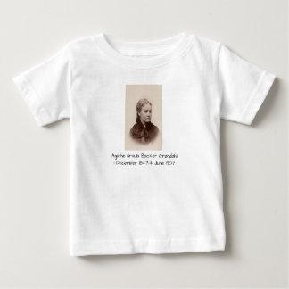 Camiseta Para Bebê Suporte Grondahl de Ágata Ursula