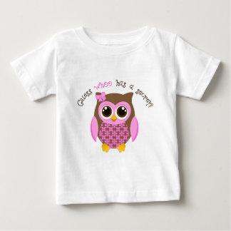 Camiseta Para Bebê Suposição que tem uma irmã mais velha secreta