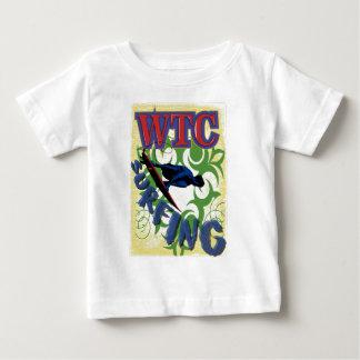 Camiseta Para Bebê Surfar tribal