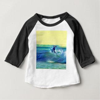 Camiseta Para Bebê Surfista