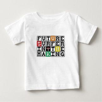 Camiseta Para Bebê SURFISTA FUTURO no T do gráfico do ~ do FAZER