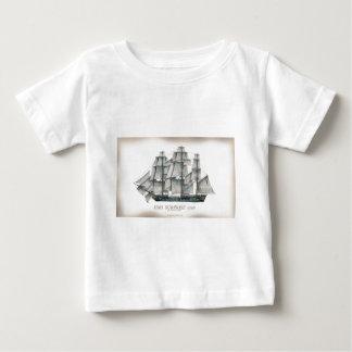 Camiseta Para Bebê Surpresa 1796 do HMS envelhecida