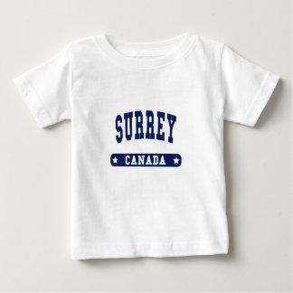 Camiseta Para Bebê Surrey