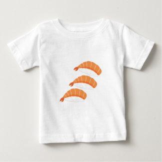 Camiseta Para Bebê Sushi do camarão
