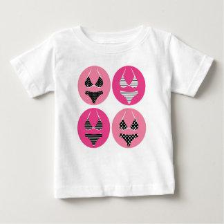 Camiseta Para Bebê Sutiã do vintage: T-shirt criativos