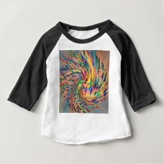 Camiseta Para Bebê Swirligigs