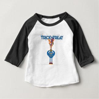 Camiseta Para Bebê T da criança da doçura ou travessura do monstro