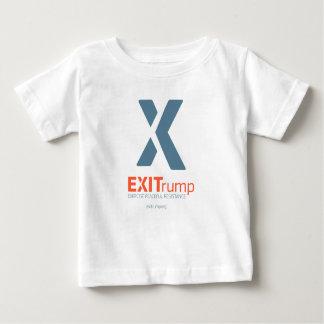 Camiseta Para Bebê T da criança de EXITrump