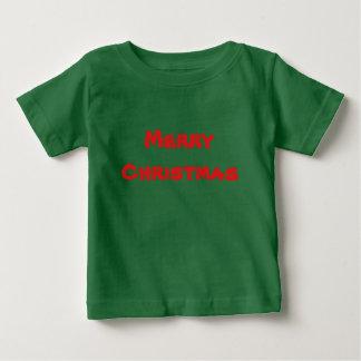 Camiseta Para Bebê T da criança dos miúdos do Feliz Natal