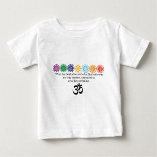 Camiseta Para Bebê T da ioga do OM