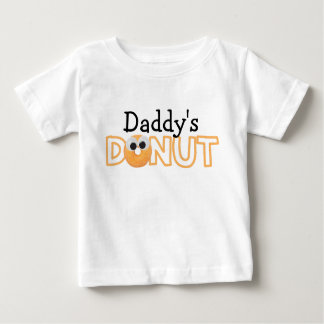 Camiseta Para Bebê T da rosquinha do pai