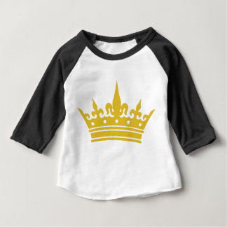 Camiseta Para Bebê T do bebê da coroa