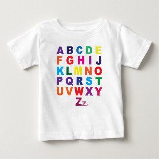 Camiseta Para Bebê T do bebê de ABC