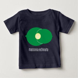 Camiseta Para Bebê T do bebê de Massonia Echinata