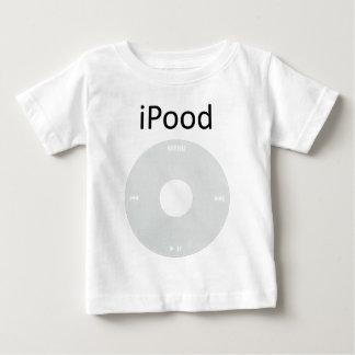 Camiseta Para Bebê T do bebê do iPood