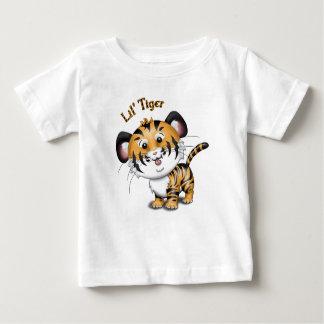 Camiseta Para Bebê T do bebê do tigre de Lil