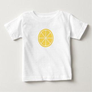 Camiseta Para Bebê T do gráfico do bebê do limão