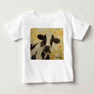 Camiseta Para Bebê T do MOO do bebê