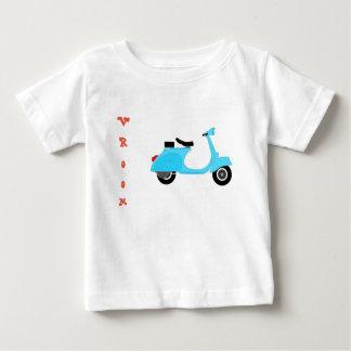 Camiseta Para Bebê T do patinete