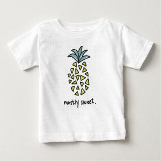 """Camiseta Para Bebê T doce do abacaxi do bebê/miúdos """"na maior parte"""""""