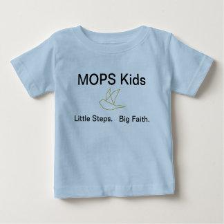 Camiseta Para Bebê T dos miúdos dos ESPANADORES