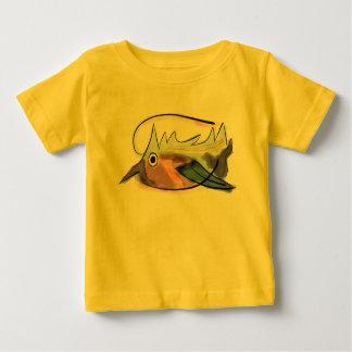 Camiseta Para Bebê T estranho do bebê dos peixes
