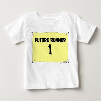Camiseta Para Bebê T futuro da criança do corredor