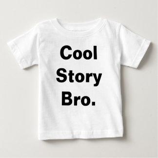 Camiseta Para Bebê T legal do bebê de Bro da história