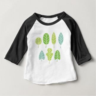 Camiseta Para Bebê T-shirt ARTÍSTICOS VERDES