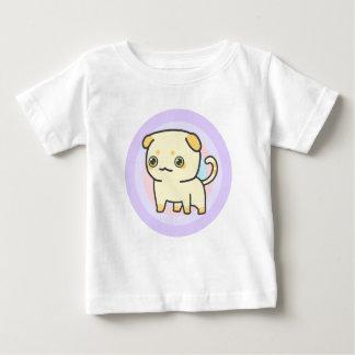 Camiseta Para Bebê T-shirt bonito do jérsei da multa do bebê do