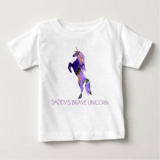 Camiseta Para Bebê T-shirt bravo de T-ShirtBaby do jérsei da multa do