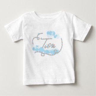 Camiseta Para Bebê t-shirt conhecido da tipografia de tien