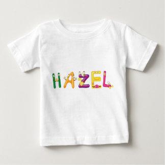 Camiseta Para Bebê T-shirt côr de avelã do bebê
