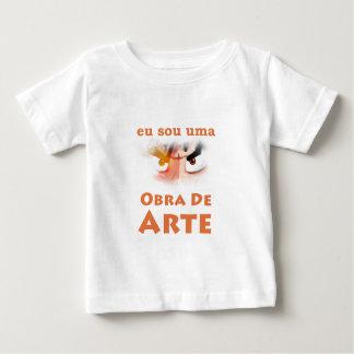 Camiseta Para Bebê T-shirt Criança- Obra De Arte