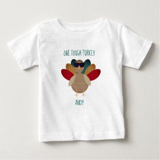 """Camiseta Para Bebê """"T-shirt da acção de graças de Turquia resistente"""""""