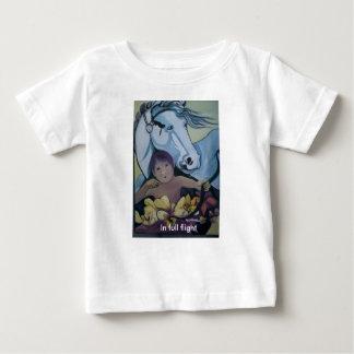 Camiseta Para Bebê T-shirt da criança