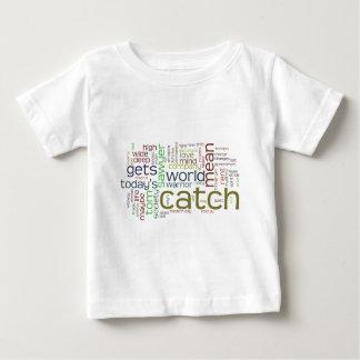 Camiseta Para Bebê T-shirt da criança da nuvem da palavra de Tom